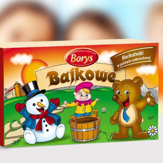 pudełko na ciasteczka dla dzieci