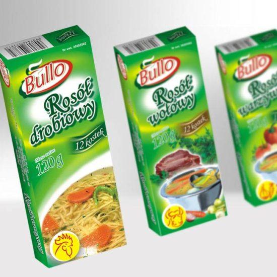 design opakowań kartonowych na koncentraty spożywcze