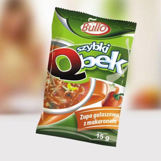 projekt marki zupy