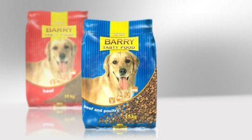 projekt opakowania big size karma dla psa