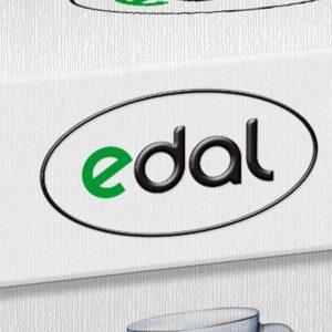 refreshing logo edal