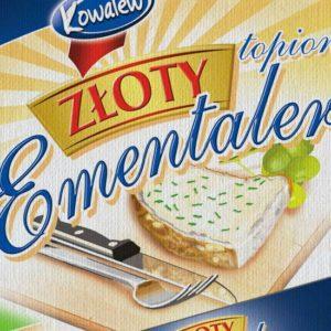 projekt opakowania na ser
