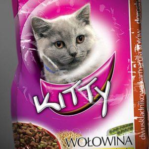 opakowanie na karmę dla kota