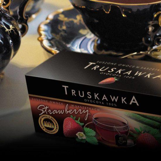 opakowanie premium na herbatę