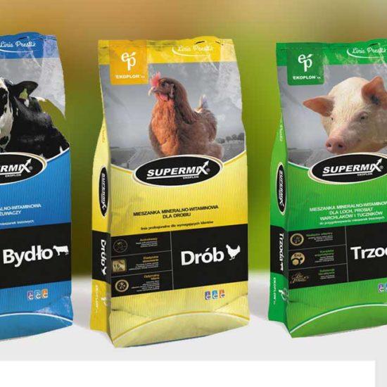 linia produktów paszowych packaging