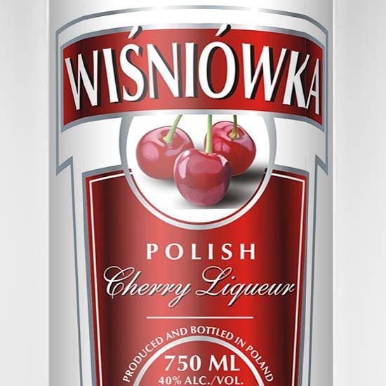 wisniowka branding wódka