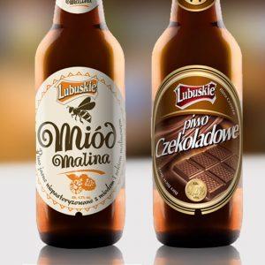 branding rodziny piw jasnych i ciemnych