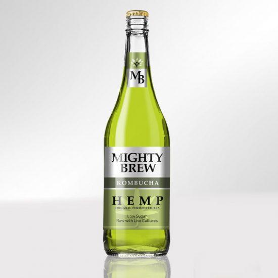 Projekt etykiety metalicznej na butelkę