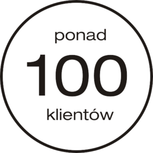 ponad 100 klientów