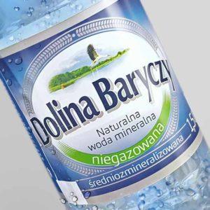 projekt etykiety na wodę